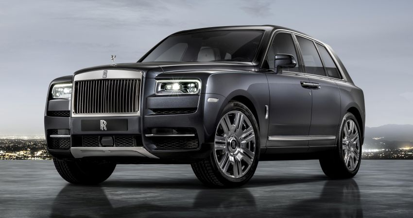Rolls-Royce Cullinan – brand's first-ever SUV debuts Image #817147