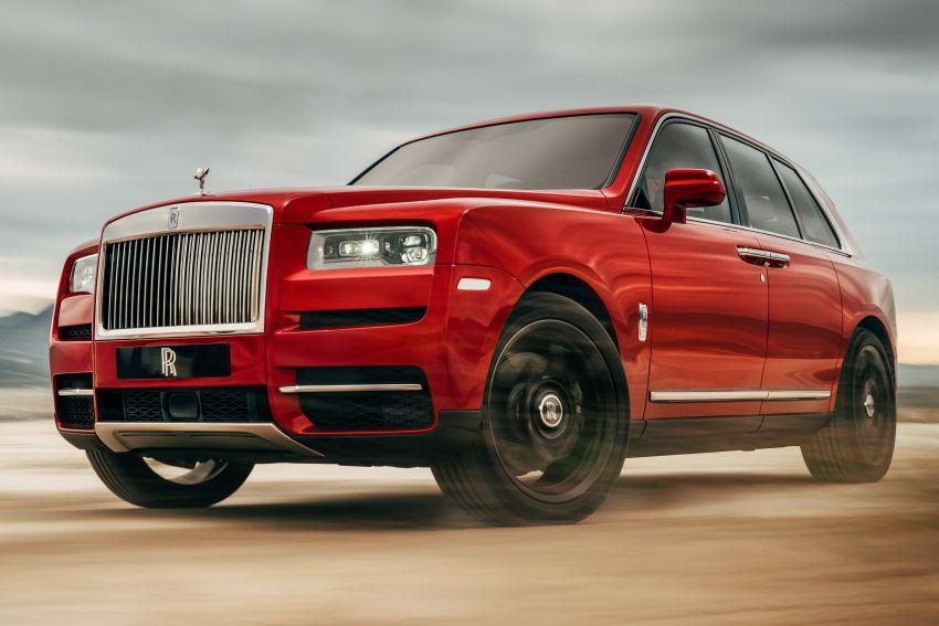 Rolls-Royce Cullinan ditunjuk – SUV serba mewah Image #816825
