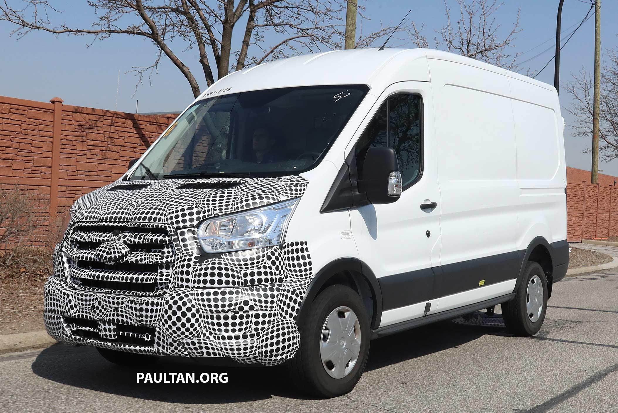 SPYSHOTS: 2019 Ford Transit - 3.5 V6 EcoBoost?