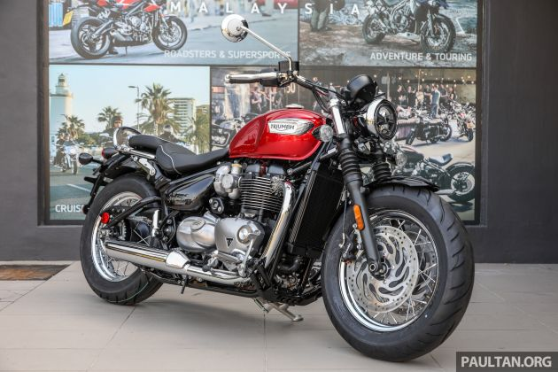 2018 Triumph Malaysia prices without GST updated