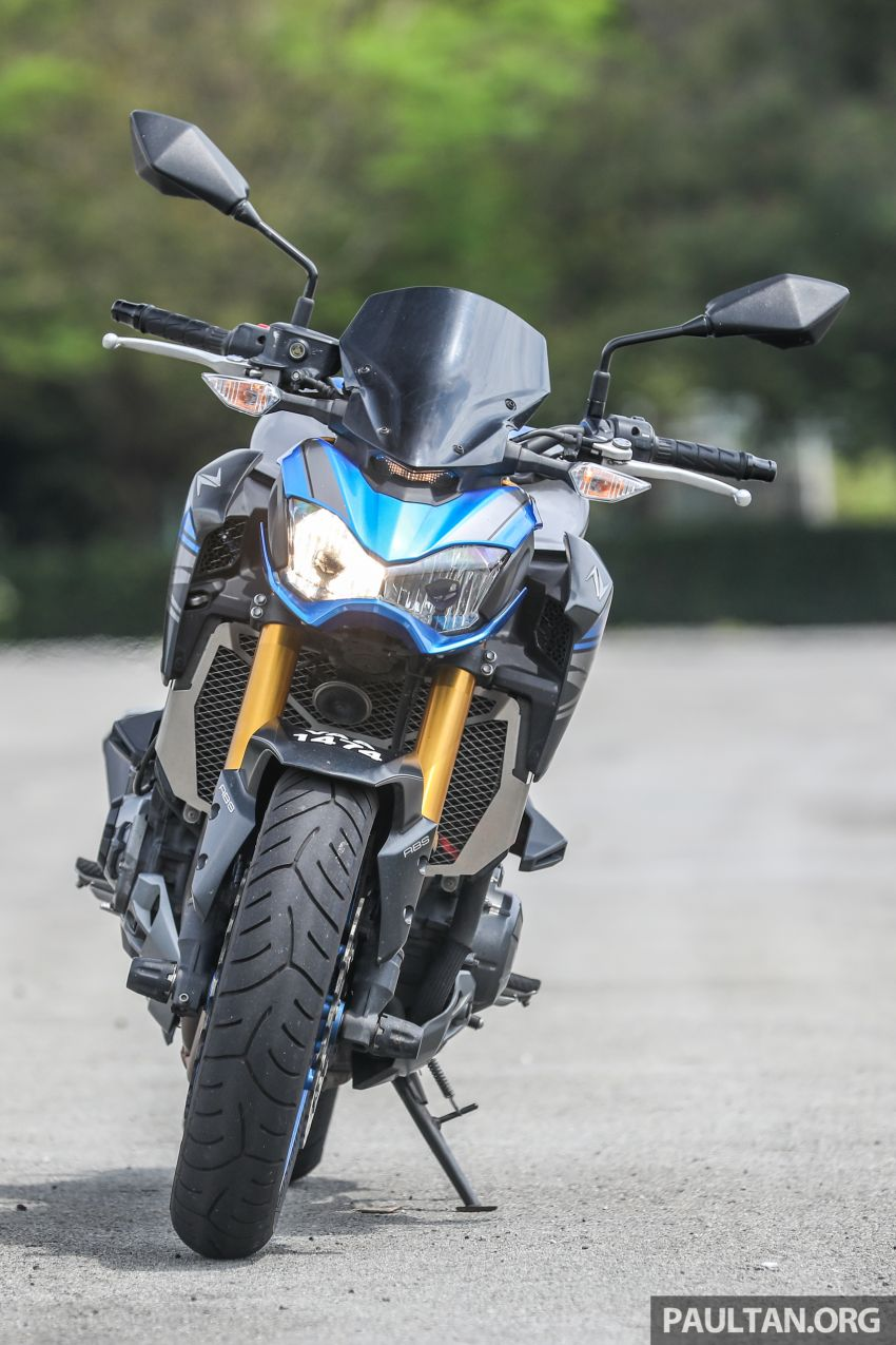 Honda CB650F, Kawasaki Z900 ABS, Triumph 765S, Yamaha MT-09 – which RM50k bike is best for you? Image #829566