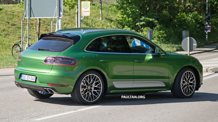 SPIED: 2018 Porsche Macan facelift – debuting soon? Image #827772