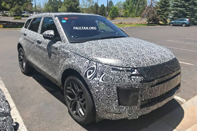 Land Rover Defender 2019 Spy Shots >> Jaguar Land Rover range to be updated by 2024 - next Evoque in 2019, new inline-six to retire ...