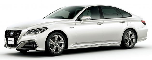 2018 Toyota Crown - fully-redesigned S220 debuts