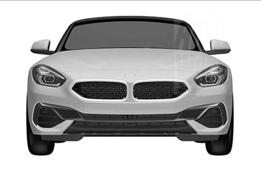 2019 BMW Z4 shown in patent ahead of Pebble Beach Image #826232