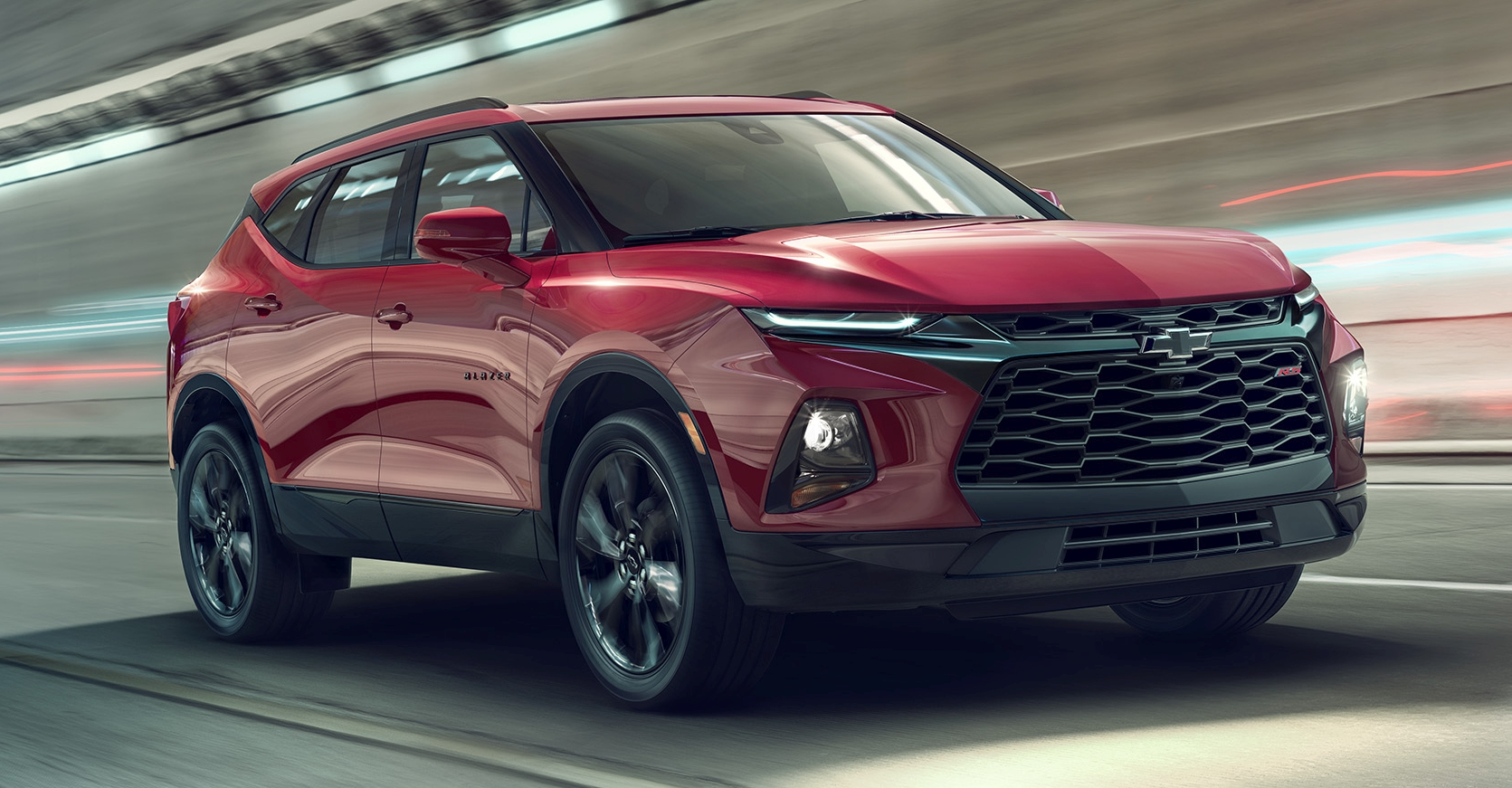 2019 Chevrolet Blazer Suv Resurrects An Old Name Paultan Org