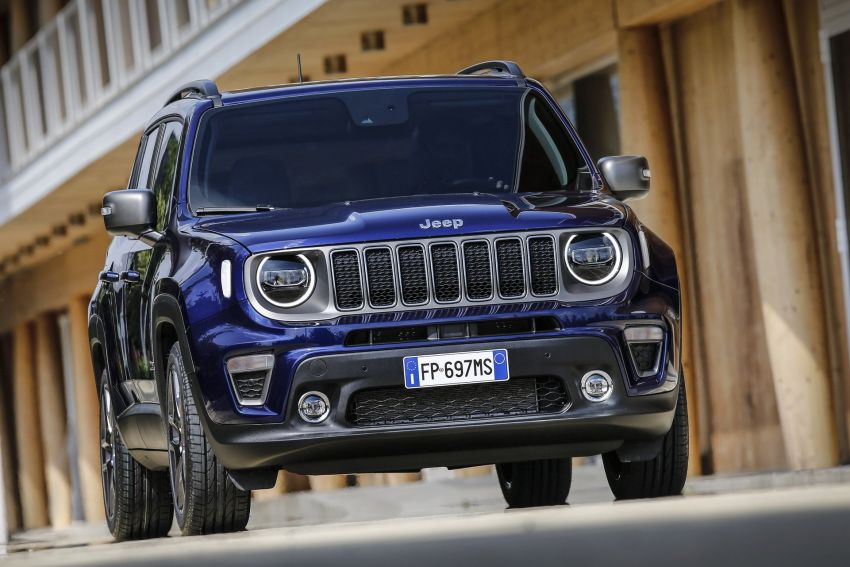 2019 Jeep Renegade facelift – new engines, too cute Image #829092
