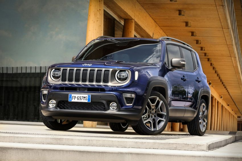 2019 Jeep Renegade facelift – new engines, too cute Image #829093