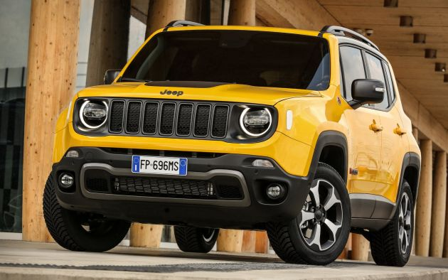 2019 Jeep Renegade Facelift New Engines Too Cute
