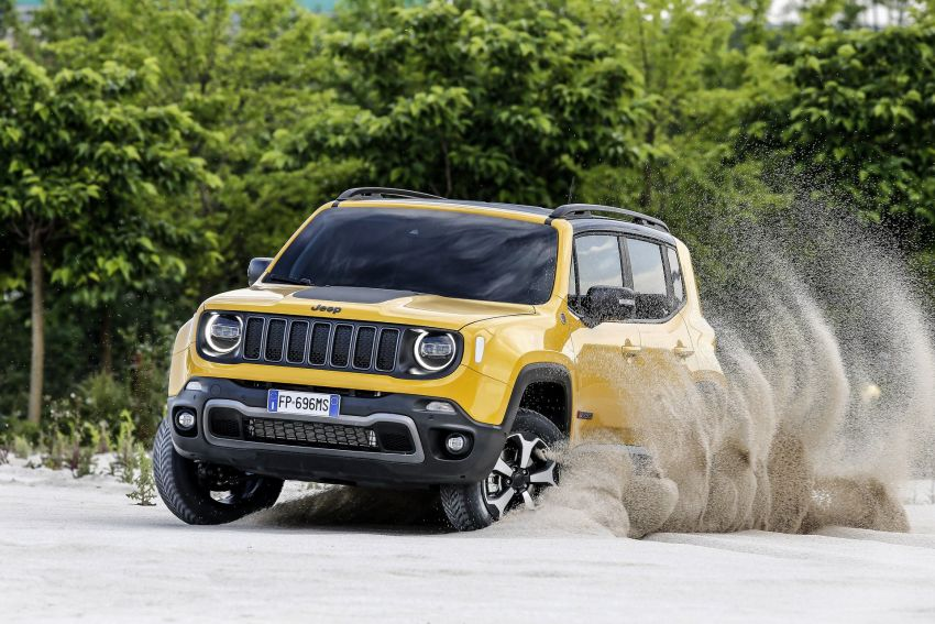 2019 Jeep Renegade facelift – new engines, too cute Image #829099
