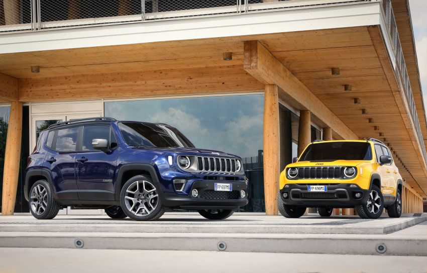 2019 Jeep Renegade facelift – new engines, too cute Image #829100