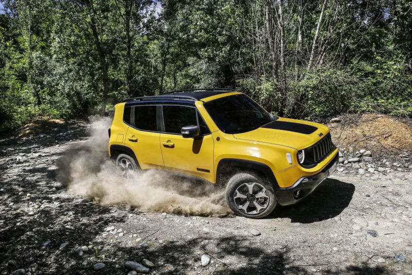 2019 Jeep Renegade facelift – new engines, too cute Image #829101