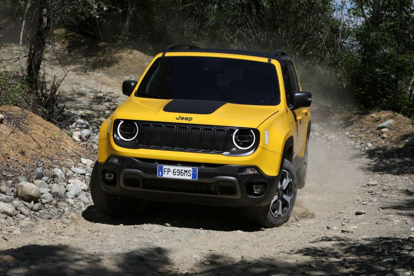 2019 Jeep Renegade facelift – new engines, too cute Image #829106