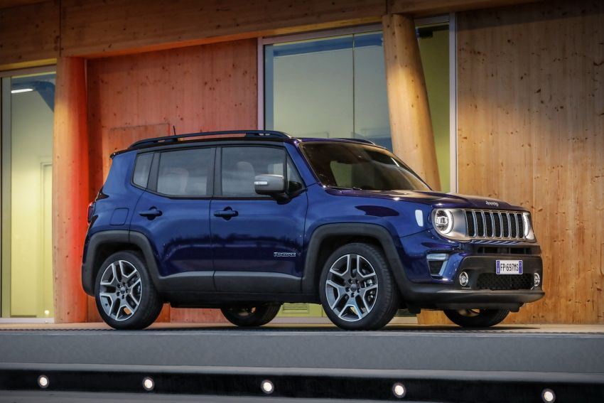 2019 Jeep Renegade facelift – new engines, too cute Image #829108