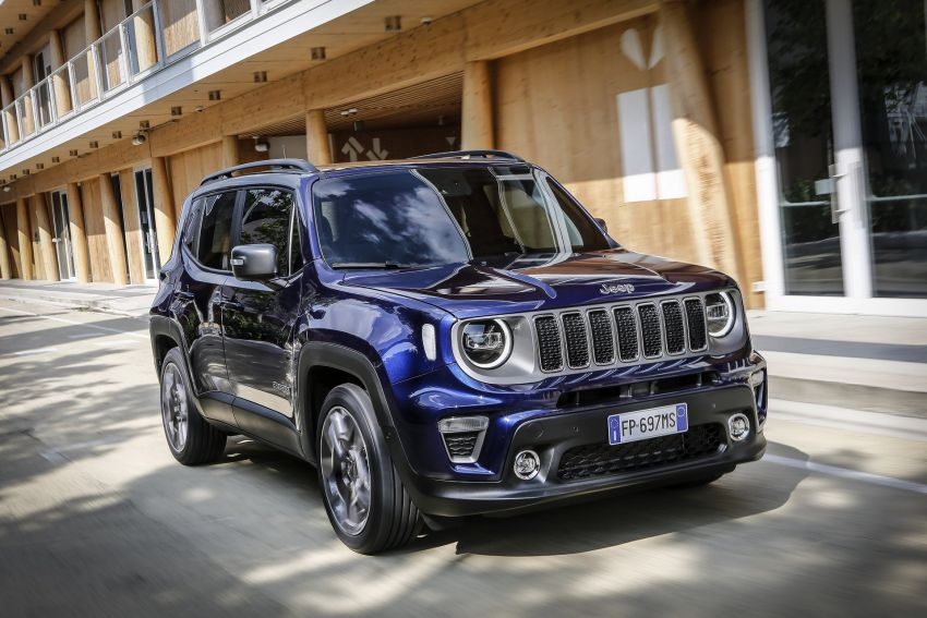 2019 Jeep Renegade facelift – new engines, too cute Image #829081