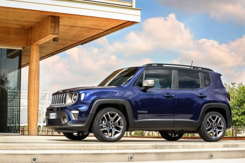 2019 Jeep Renegade facelift – new engines, too cute Image #829113