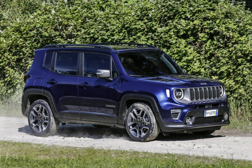 2019 Jeep Renegade facelift – new engines, too cute Image #829114