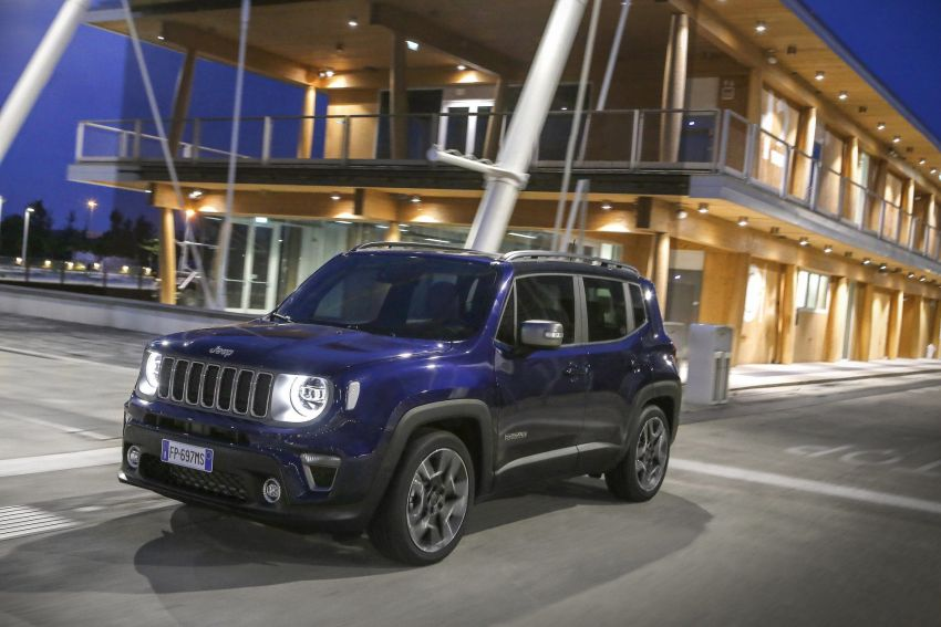 2019 Jeep Renegade facelift – new engines, too cute Image #829116