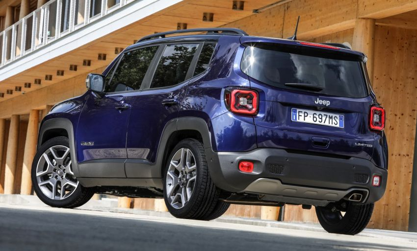 2019 Jeep Renegade facelift – new engines, too cute Image #829119