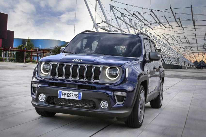 2019 Jeep Renegade facelift – new engines, too cute Image #829082