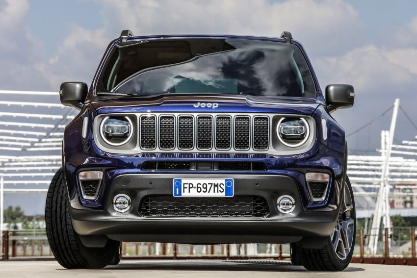 2019 Jeep Renegade facelift – new engines, too cute Image #829122