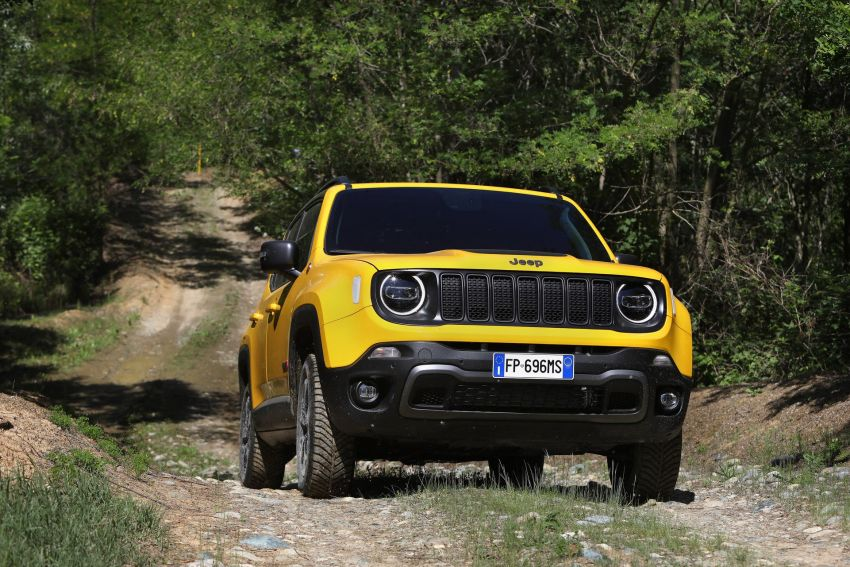 2019 Jeep Renegade facelift – new engines, too cute Image #829123