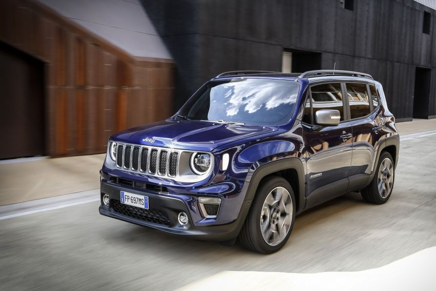 2019 Jeep Renegade facelift – new engines, too cute Image #829135