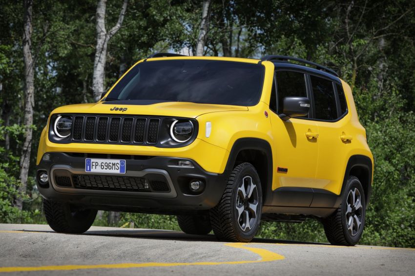 2019 Jeep Renegade facelift – new engines, too cute Image #829141