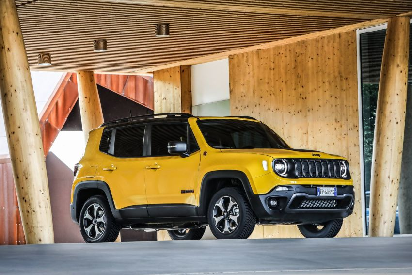 2019 Jeep Renegade facelift – new engines, too cute Image #829085
