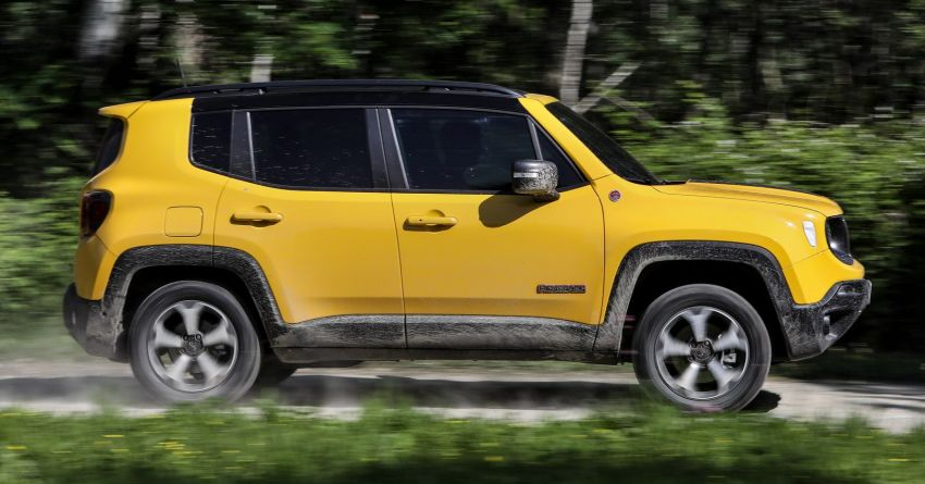 2019 Jeep Renegade facelift – new engines, too cute Image #829142