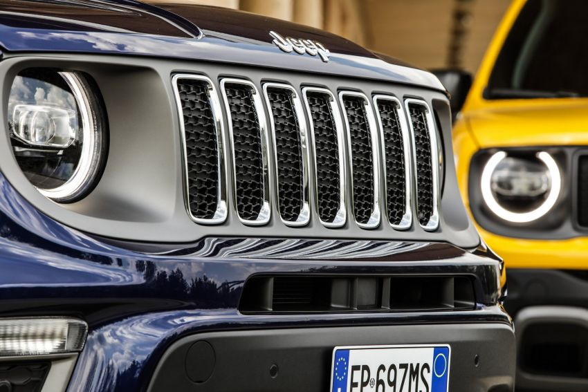 2019 Jeep Renegade facelift – new engines, too cute Image #829147
