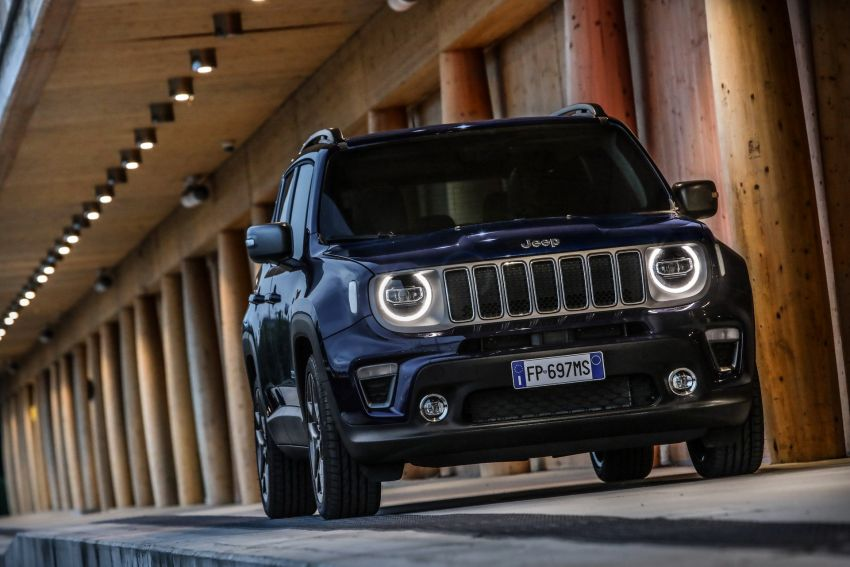 2019 Jeep Renegade facelift – new engines, too cute Image #829154
