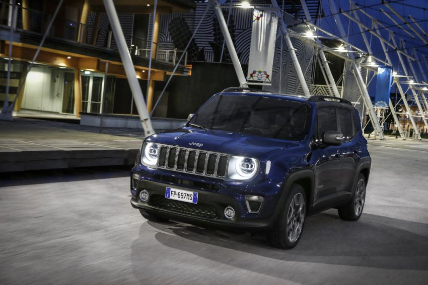 2019 Jeep Renegade facelift – new engines, too cute Image #829157