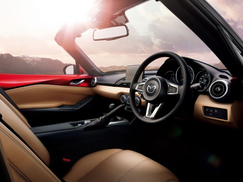 Mazda MX-5 update detailed – 2.0L jumps from 160 to 184 PS; lower emissions, improved active safety Image #829033