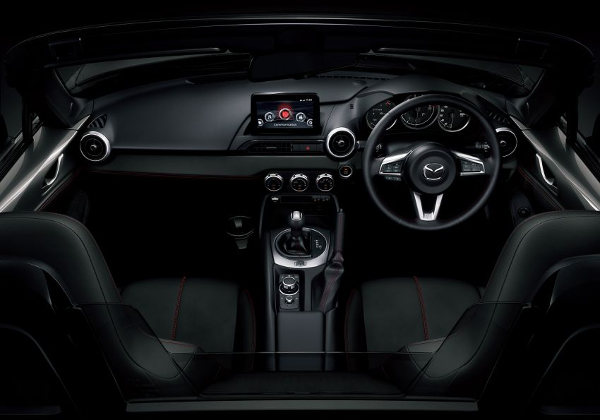 Mazda MX-5 update detailed – 2.0L jumps from 160 to 184 PS; lower emissions, improved active safety Image #829036