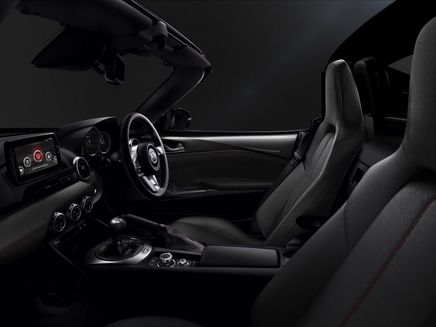 Mazda MX-5 update detailed – 2.0L jumps from 160 to 184 PS; lower emissions, improved active safety Image #829037