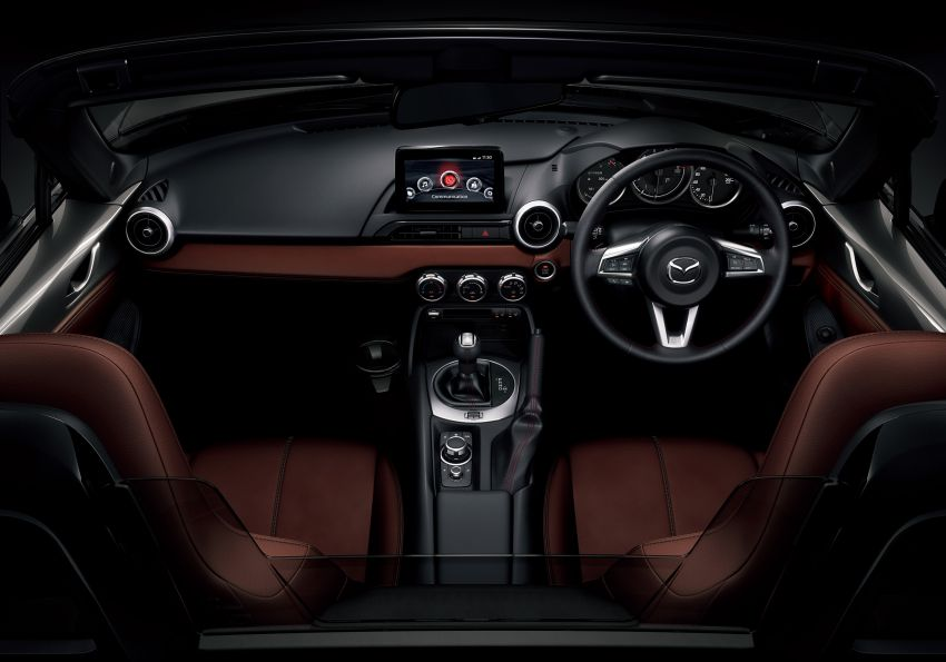 Mazda MX-5 update detailed – 2.0L jumps from 160 to 184 PS; lower emissions, improved active safety Image #829038