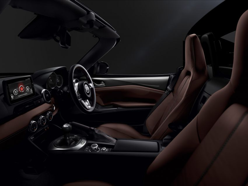 Mazda MX-5 update detailed – 2.0L jumps from 160 to 184 PS; lower emissions, improved active safety Image #829039