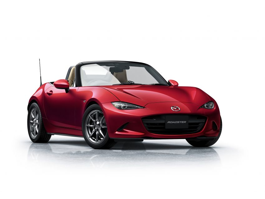 Mazda MX-5 update detailed – 2.0L jumps from 160 to 184 PS; lower emissions, improved active safety Image #829023