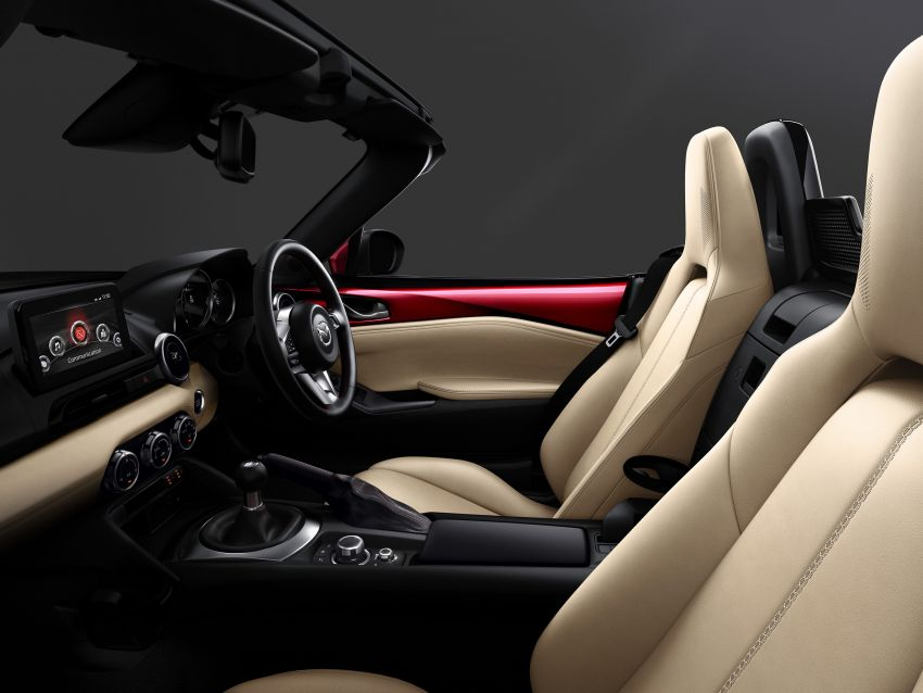 Mazda MX-5 update detailed – 2.0L jumps from 160 to 184 PS; lower emissions, improved active safety Image #829024