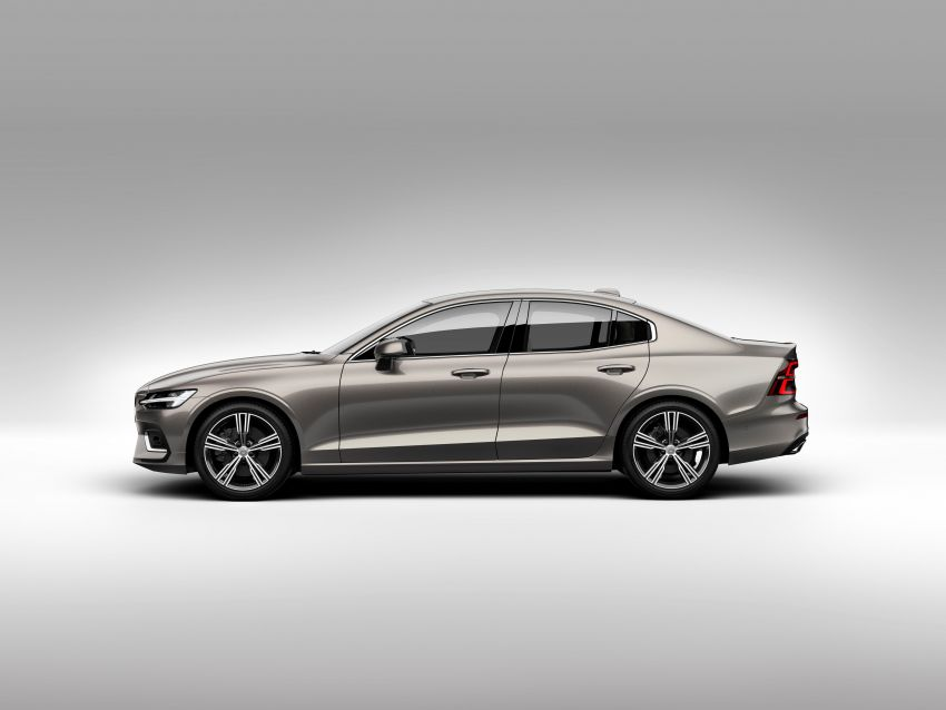 2019 Volvo S60 revealed – petrol powertrains only, optional Polestar Engineered upgrade, up to 415 hp Image #829167