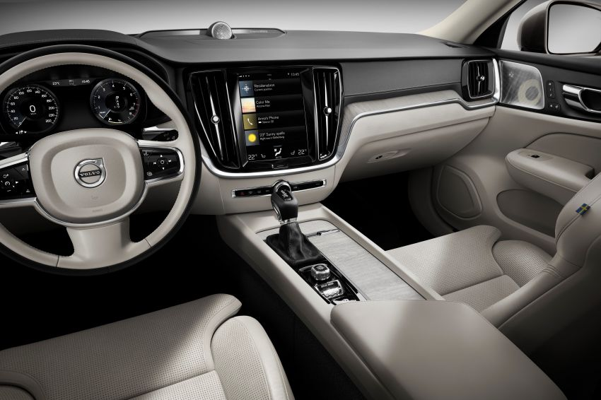 2019 Volvo S60 revealed – petrol powertrains only, optional Polestar Engineered upgrade, up to 415 hp Image #829186