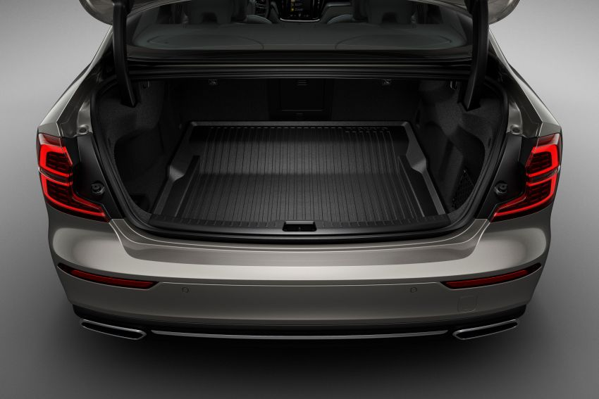 2019 Volvo S60 revealed – petrol powertrains only, optional Polestar Engineered upgrade, up to 415 hp Image #829202