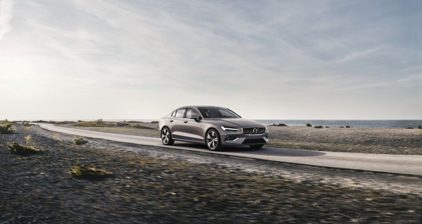 2019 Volvo S60 revealed – petrol powertrains only, optional Polestar Engineered upgrade, up to 415 hp Image #829213