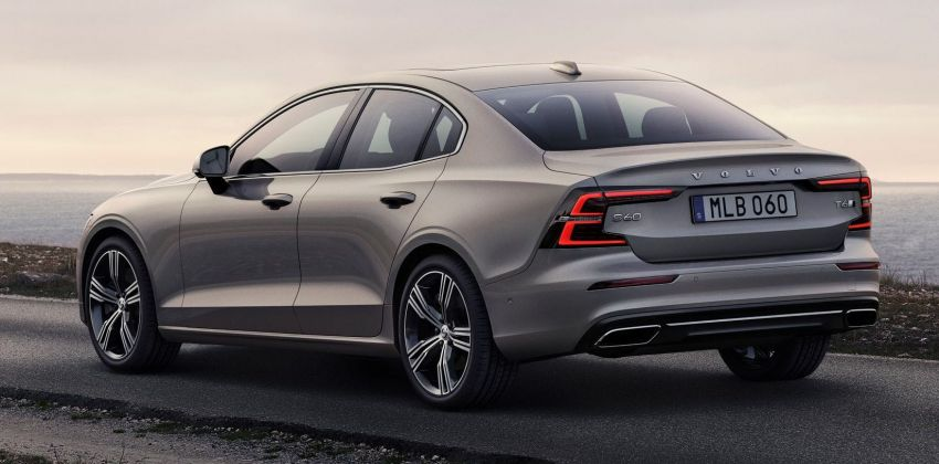 2019 Volvo S60 revealed – petrol powertrains only, optional Polestar Engineered upgrade, up to 415 hp Image #829215