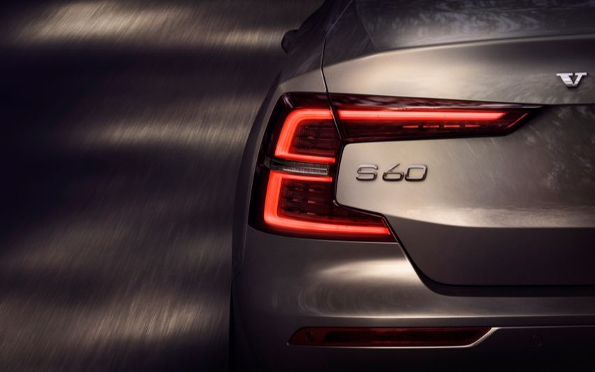 2019 Volvo S60 revealed – petrol powertrains only, optional Polestar Engineered upgrade, up to 415 hp Image #829229