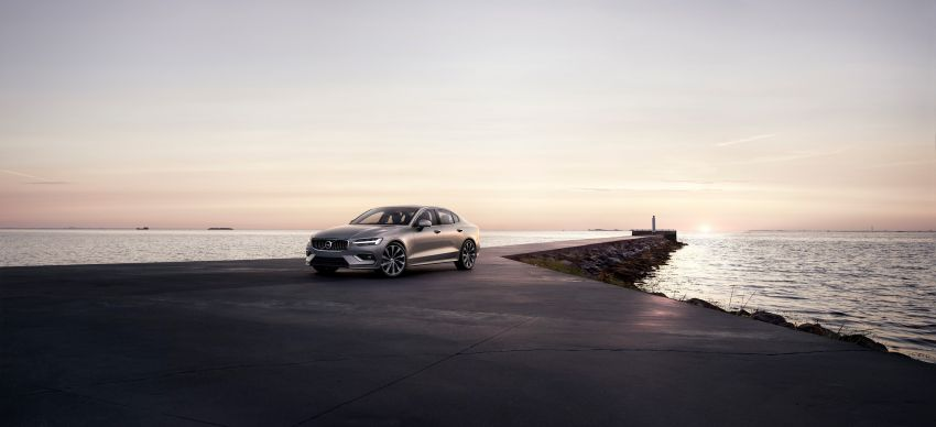 2019 Volvo S60 revealed – petrol powertrains only, optional Polestar Engineered upgrade, up to 415 hp Image #829326