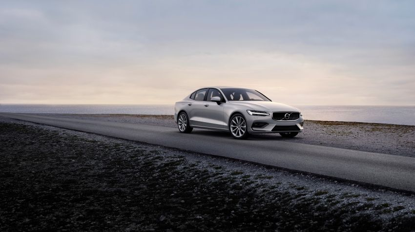 2019 Volvo S60 revealed – petrol powertrains only, optional Polestar Engineered upgrade, up to 415 hp Image #829323
