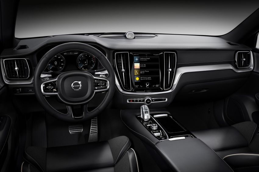 2019 Volvo S60 revealed – petrol powertrains only, optional Polestar Engineered upgrade, up to 415 hp Image #829307