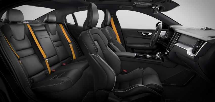 2019 Volvo S60 revealed – petrol powertrains only, optional Polestar Engineered upgrade, up to 415 hp Image #829308